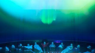 Revontulet Arktikumissa