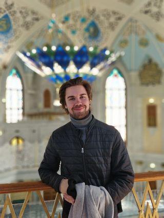 Kyösti Kuukasjärvi Kazanissa.