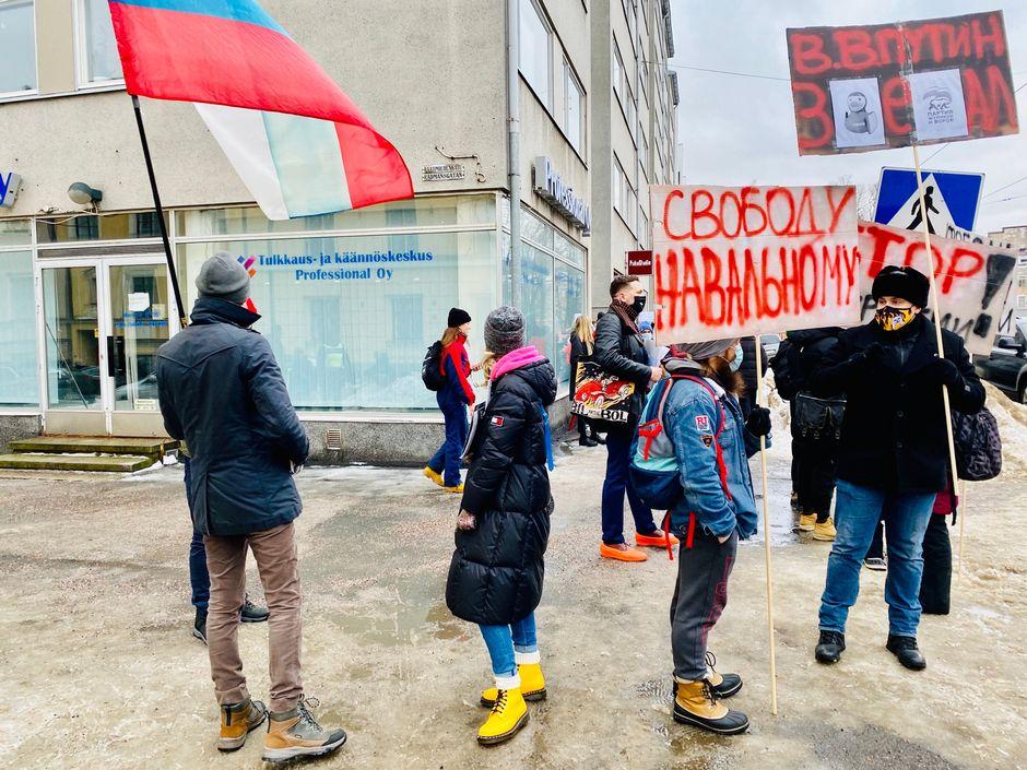 mielenosoitus navalnyi