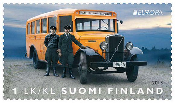 postimerkki posteurop kilpailun voittaja susanna rumpu ari lakaniemi