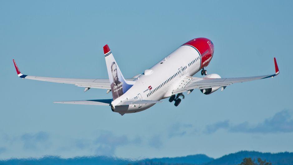 Norwegian lentoyhtiö lentokone