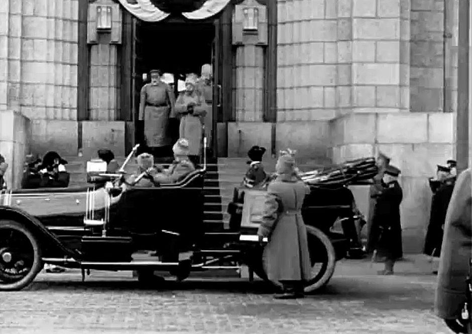 Tsaari Nikolai II vierailu Helsingissä.