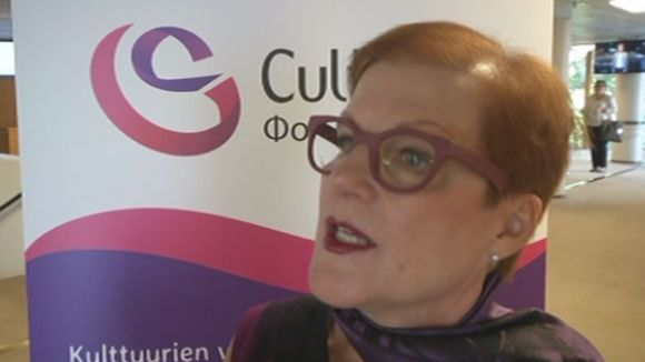 Директор фонда Cultura Aнна-Мариа Лиукко
