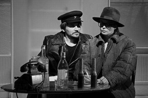 Moskova-Petushki -näytelmä, Teatr Za, Valtteri Simonen
