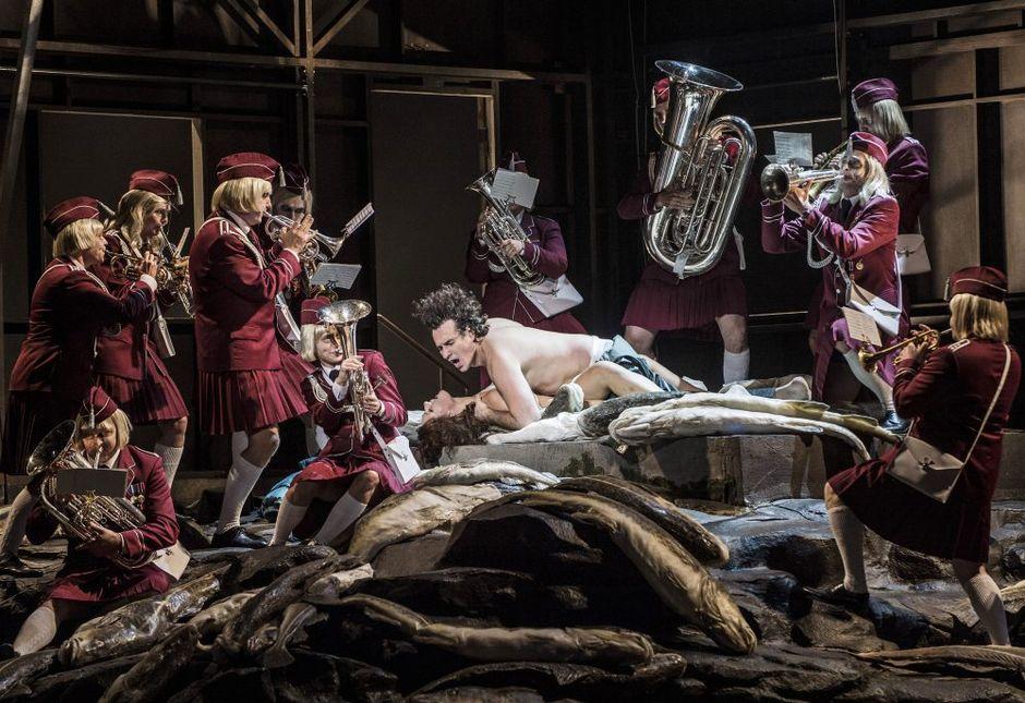 Видео: Mtsenskin kihlakunnan Lady Macbeth, Oslon ooppera, Svetlana Sozdateleva, Aleksei Kosarev.
