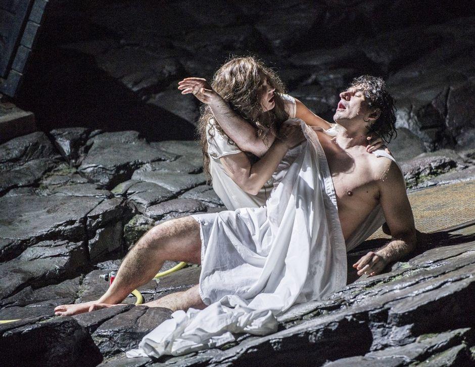 Mtsenskin kihlakunnan Lady Macbeth, Oslon ooppera, Svetlana Sozdateleva, Aleksei Kosarev.