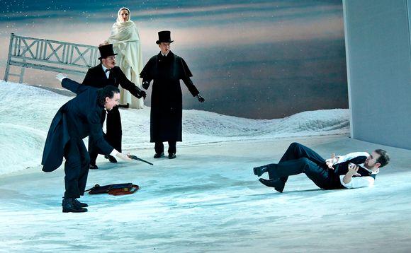 Jevgeni Onegin, Suomen Kansallisooppera, Josef Wagner, Nicholas Söderlund, Olesya Golovneva, Kyösti Latva-Kala, Jussi Myllys