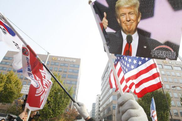 Trump mielenosoitus