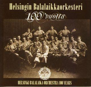 Helsingin balalaikkaorkesterin levyn kansi