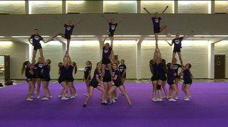 cheerleading kouvola black diamonds joukkue