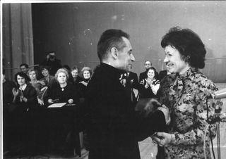 Juri Grigorovitsh, Doris Laine, Bolshoi, Moskova, 1987