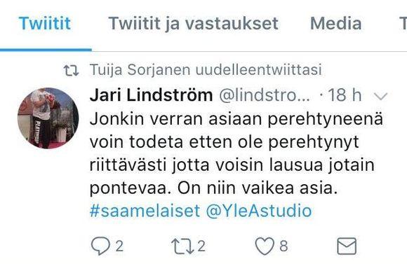 Jarin Lindström civkin.