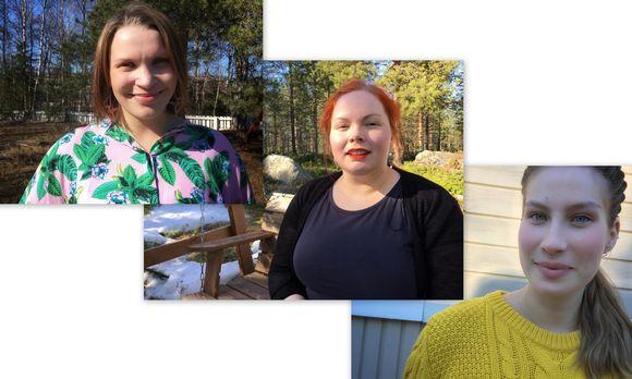 Jietna: Leena Niittyvuopio-Jämsä, Terhi Harju ja Riikka Morottaja