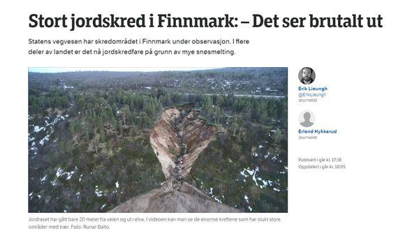 Jietna: Eana fierran NRK Finnmark