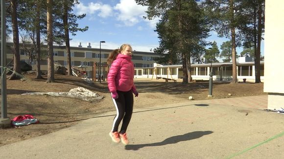 Sáránne Näkkäläjärvi njuiku bátti badjel Anára skuvla šiljus.