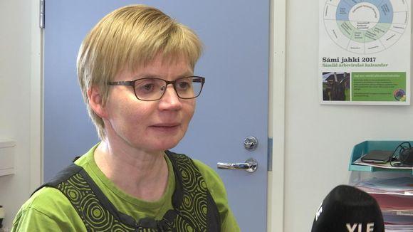 Pirkko Olli lea Avvila vuolleskuvlla rektor.