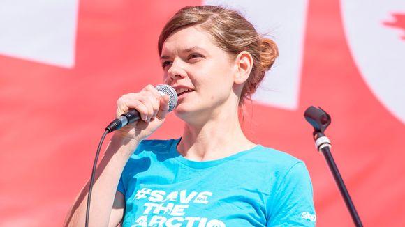 Jietna: Greenpeace arktis ja antárktis áššedovdi Laura Meller.