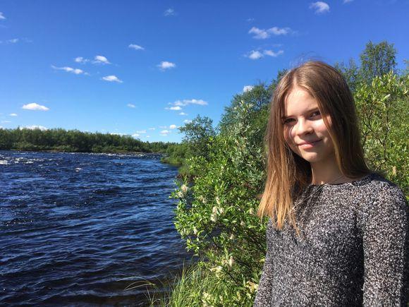 Inger-Anni Valkeapää.