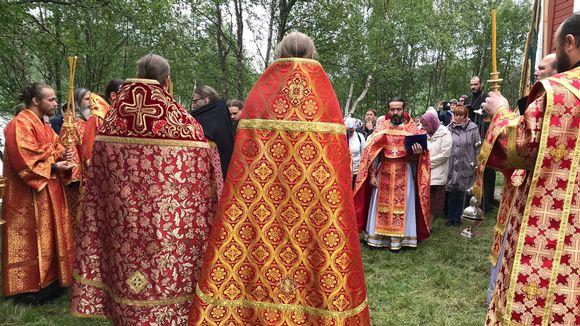 Paap Boris Gleb ceerkav sluuʹžbest