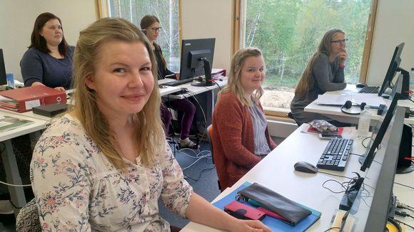 Maija-Elina Oikarinen, Hannele Fofonoff ja Tarja Tuovinen