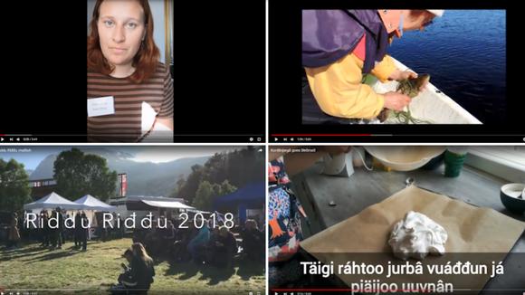 Anarâškielâ seervi Youtube-kanava