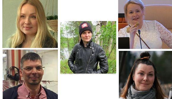 Katja Gauriloff, Pauliina Feodoorff, Tanja Sanila, Jouni S. Laiti ja Anna Näkkäläjärvi-Länsman toimivat vuosina 2019.2020.