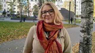 Oulun yliopiston väitöskirjatutkija Sonja Tanhua