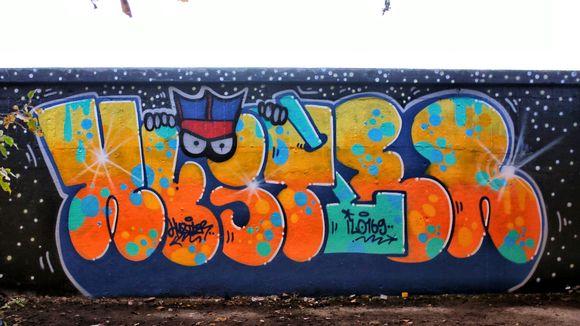 Sámi Hustlerin graffiti