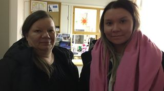 Pirjo Länsman-Kiimalainen ja Laura-Maija Niittyvuopio