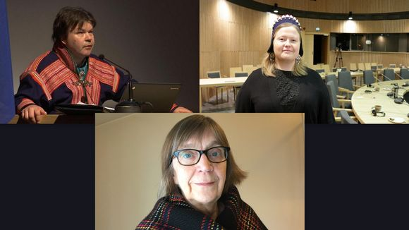 Klemetti Näkkäläjärvi, Tiina Sanila-Aikio ja Anu Avaskari