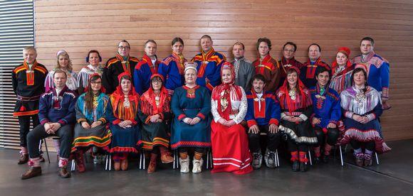 Saamelaiskäräjät 2016–2019.