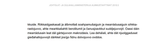 Govva váldojuvvon Jiekŋameara ruovdegeainnu loahpparaporttas.