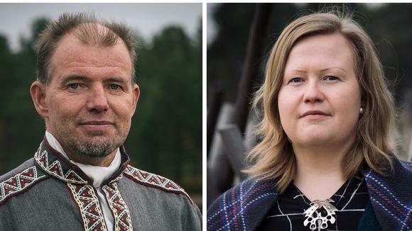 Veikko Feodoroff ja Tiina Sanila-Aikio