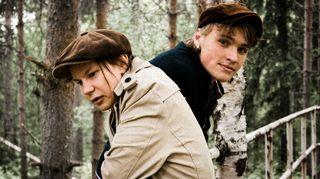 Niillas Holmberg ja Roope Mäenpää