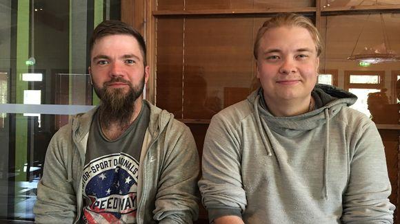 Antti Pätsi ja Simo Holck