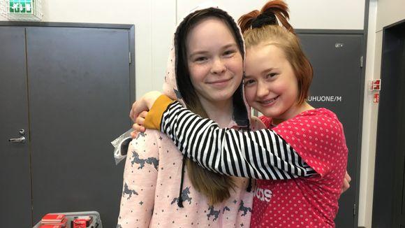 Emma Sieppi ja Kiira Savikko.