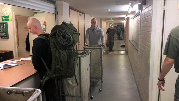 Vuoden toinen saapumiserä aloitti palveluksensa Ivalon Rajajääkärikomppaniassa.