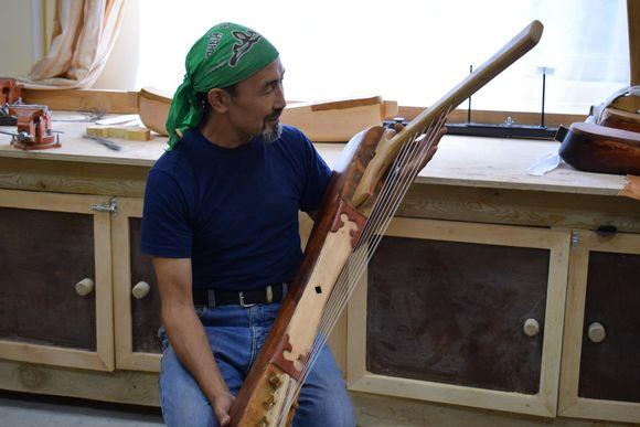 Aydar Churupov lea Altai álbmotčuojanasaid meašttir.