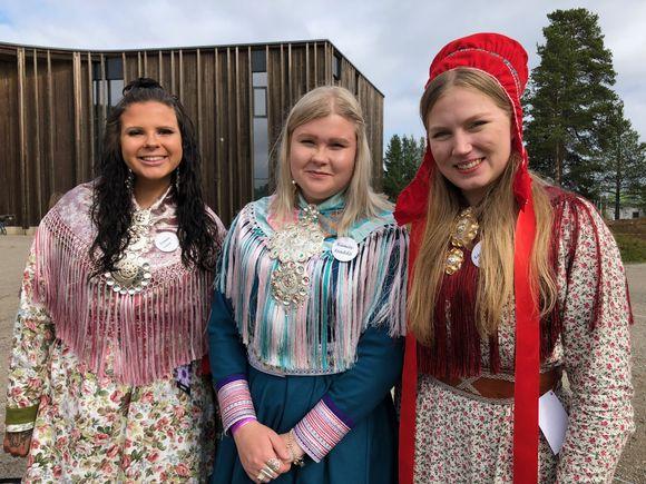 Sáárá Seipiharju, Marianne Ketola ja Teija Kaartokallio