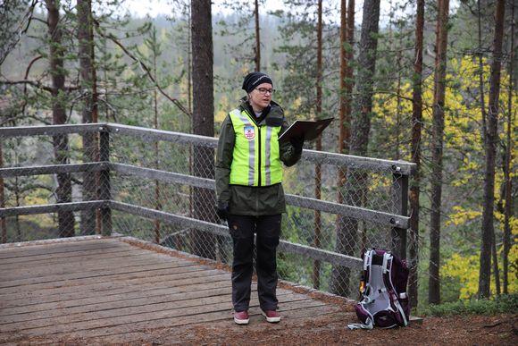 Anu Toivonen on Tunturi-Lapin turistipappi.