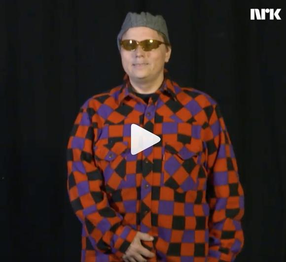 Govva Preben Pulk -videos NRK Sámi Instagram-konttus