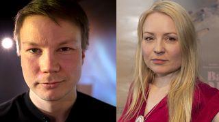 Niilas Holmberg ja Katja Gauriloff