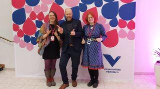 Anni Ahlakorpi, Henri Ramberg ja Anni-Sofia Niittyvuopio