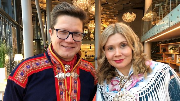 Niko Valkeapää ja Iŋgá Máret Gaup-Juuso