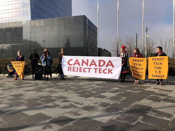 Canada reject teck