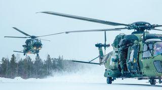 NH90-kuljetushelikopteri Utti