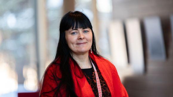 Sámedikki hálddahushoavda Pia Ruotsala-Kangasniemi.