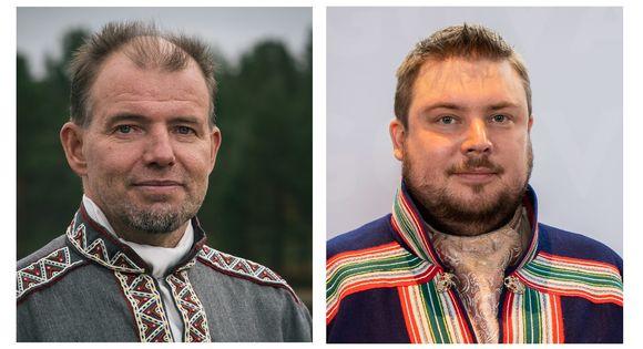 Veikko Feodoroff ja Tuomas Aslak Juuso
