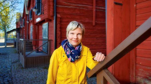 suomen kielen dosentti Niina Kunnas
