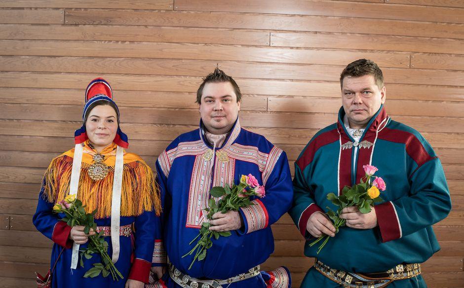 Anni Koivisto, Tuomas Aslak Juuso ja Leo Aikio